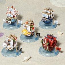 One Piece Yura Yura Pirate Ship Box Set