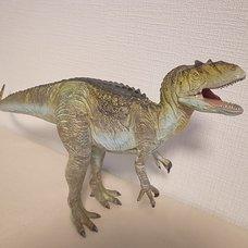 Dinotales Allosaurus: Green Color Soft Vinyl Figure