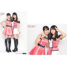 Morning Musume。'15 Fall Concert Tour ~Prism~ 2L-Size Two Shot Photo Set (Riho Sayashi x Miki Nonaka)