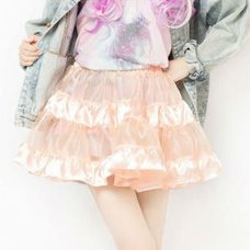 LLL Tiered Skirt (Baby Pink)