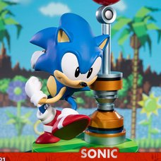 Sonic the Hedgehog Sonic Statue: Exclusive Edition