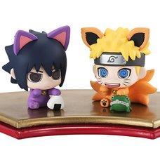 Petit Chara Land Naruto Shippuden Manekineko Maneki Kyubi Dattebayo! Figure Set