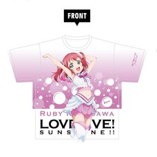 Love Live! Sunshine!! Ruby Kurosawa Full Graphic T-Shirt