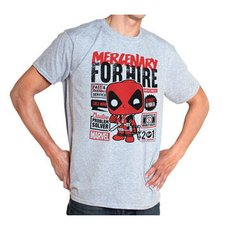 POP! Tees: Deadpool for Hire T-Shirt