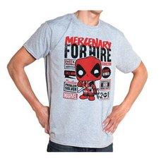 POP! Tees: Deadpool for Hire T-Shirt