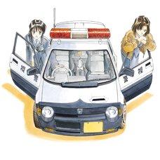 Kousuke Fujishima Signed Limited Edition Framed You're Under Arrest Primagraphie Art Print: Preparations Complete