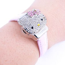 Hello Kitty Face Wristwatch