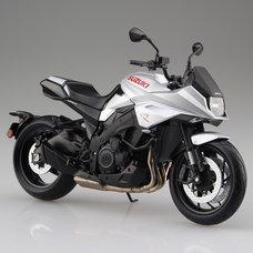 Suzuki Motorcycle GSX-S1000S Katana: Metallic Mystic Silver 1/12 Complete Model