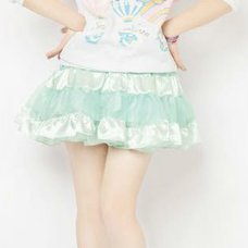 LLL Tiered Skirt (Baby Blue)