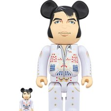 BE@RBRICK Elvis Presley 100% & 400% Set