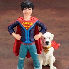 ArtFX+ DC Comics Super Sons Jonathan Kent & Krypto