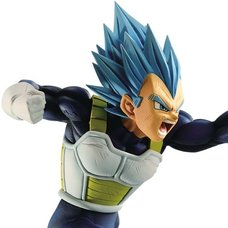 Dragon Ball Super Super Saiyan Blue Vegeta Z-Battle Figure