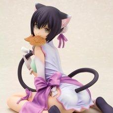 Ani Statue Shining Hearts Mischievous Slinking Cat Xiaomei