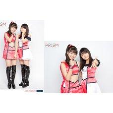 Morning Musume。'15 Fall Concert Tour ~Prism~ 2L-Size Two Shot Photo Set (Riho Sayashi x Maria Makino)