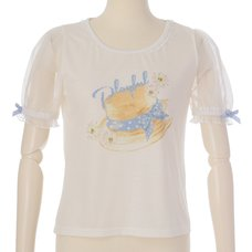 LIZ LISA Boater Print T-Shirt