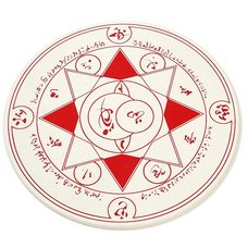 Fate Diatomite Magic Circle Bath Mat