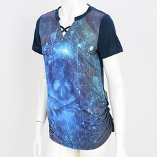 Ozz Croce Galaxy Skull T-Shirt