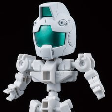 SD Gundam Cross Silhouette Mobile Suit Gundam Cross Silhouette Frame White