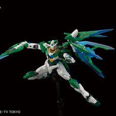 HGBF Gundam Build Fighters Try 00 Qan[T] Custom 1/144 Plastic Model Kit