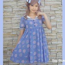 KOKOkim Gloomy Mermaid Sailor Dress