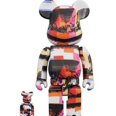 BE@RBRICK Andy Warhol The Last Supper 100% & 400% Set