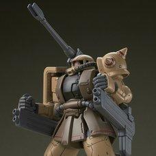 HG 1/144 Gundam: The Origin Zaku Half Cannon
