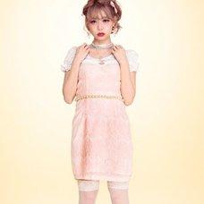 Swankiss Rose Pearl Dress
