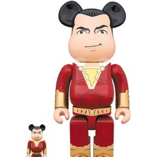 BE@RBRICK Shazam! Shazam 100% & 400% Set