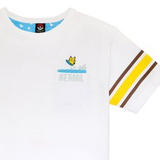 Surfing Pikachu T-Shirt (White)