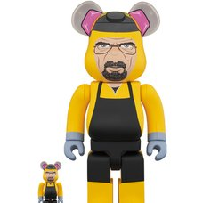 BE@RBRICK Breaking Bad Walter White 100% & 400% Set