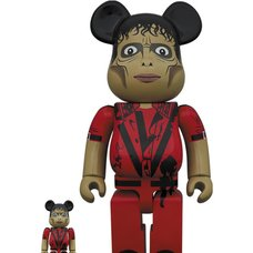 BE@RBRICK Michael Jackson Zombie 100% & 400% Set