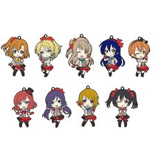 Love Live! Nendoroid Plus Rubber Straps Box