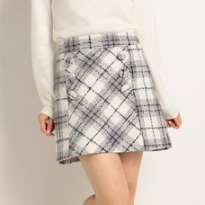 LIZ LISA Classic Plaid Skirt