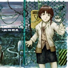 Yoshitoshi ABe 20th Anniversary Signed Premium Art Print - Between Night and Day (Serial Experiments Lain)