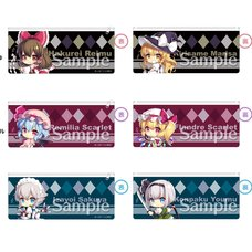 Touhou Project Touhou Naminoamamiya Yawaraka Pen Pouch: Look Back Girls