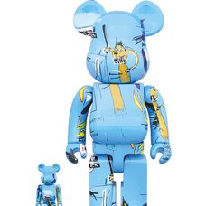 BE@RBRICK Jean-Michel Basquiat Vol. 4 100% & 400% Set