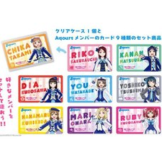 Love Live! Sunshine!! You Can Choose! Aqours Member Badge Set
