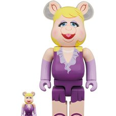 BE@RBRICK The Muppets Miss Piggy 100% & 400% Set