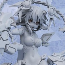 Hyperdimension Neptunia: Nep's Summer Vacation Blu-ray First Limited Edition w/ Purple Heart: Lilac Cool Ver. 1/7 Scale Figure