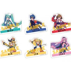 Vocaloid Sticker Set: Akiakane Ver.