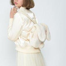 Honey Salon Bunny Style Faux Fur Backpack