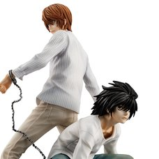 G.E.M. Series Death Note Light Yagami & L