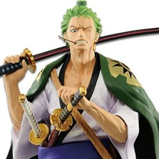One Piece Roronoa Zoro: Japanese Style Non-Scale Figure