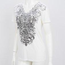 Rozen Kavalier Ornament Print T-Shirt