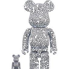 BE@RBRICK Keith Haring Vol. 4 100% & 400% Set