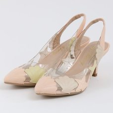 Honey Salon Shell High Heels (Light Pink)