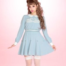 Swankiss Memory Swan Motif Dress