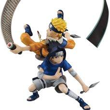 G.E.M. Series Naruto Remix Uzumaki Naruto & Uchiha Sasuke