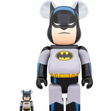 BE@RBRICK Batman Animated 100% & 400% Set