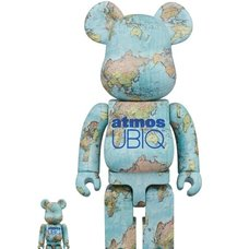 BE@RBRICK atmos x UBIQ 100% & 400% Set